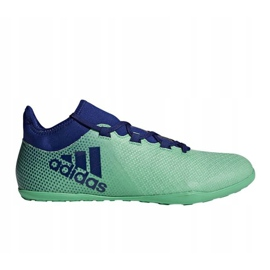 Adidas X Tango 17.3 IN M CP9142 beltéri cipő zöld