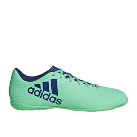 Adidas X Tango 17.4 In M beltéri cipő zöld
