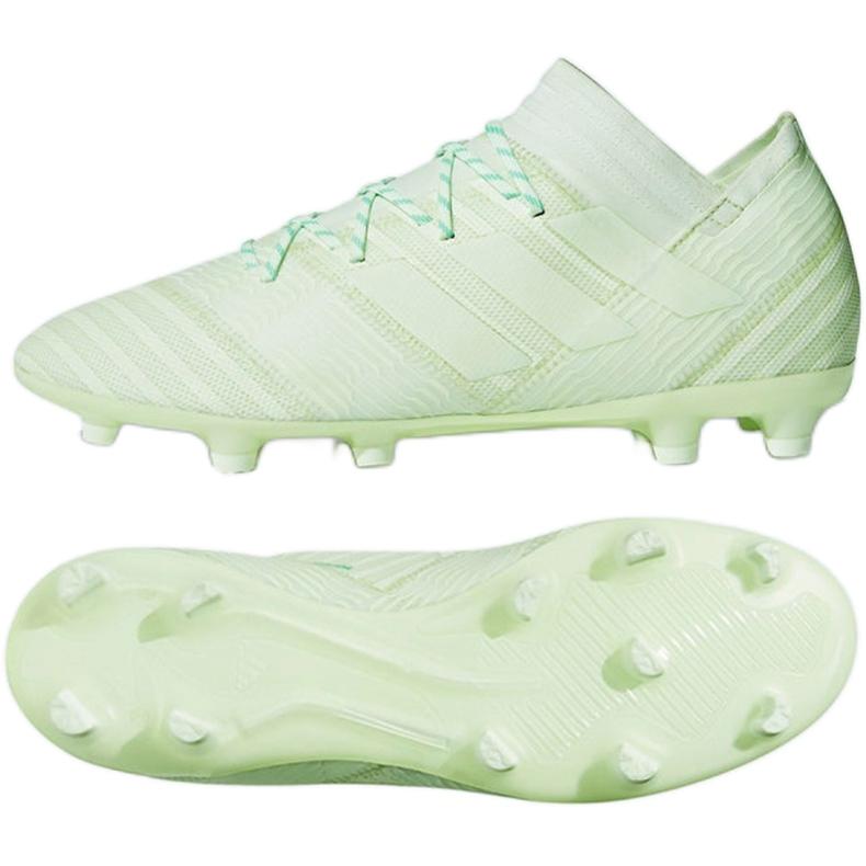 Adidas Nemeziz 17.2 Fg M CP8973 futballcipő sokszínű zöld