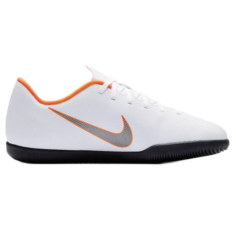 Nike Mercurial Vapor 12 Club Gs Ic Jr AH7354-107 beltéri cipő fehér fehér
