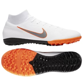 Nike Mercurial SuperflyX 6 Academy Tf M AH7370-107 futballcipő fehér fehér