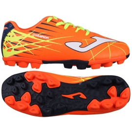 Futballcipő Joma Chamion 808 Orange Rubber 24 Ag Jr CHAJW.808.24