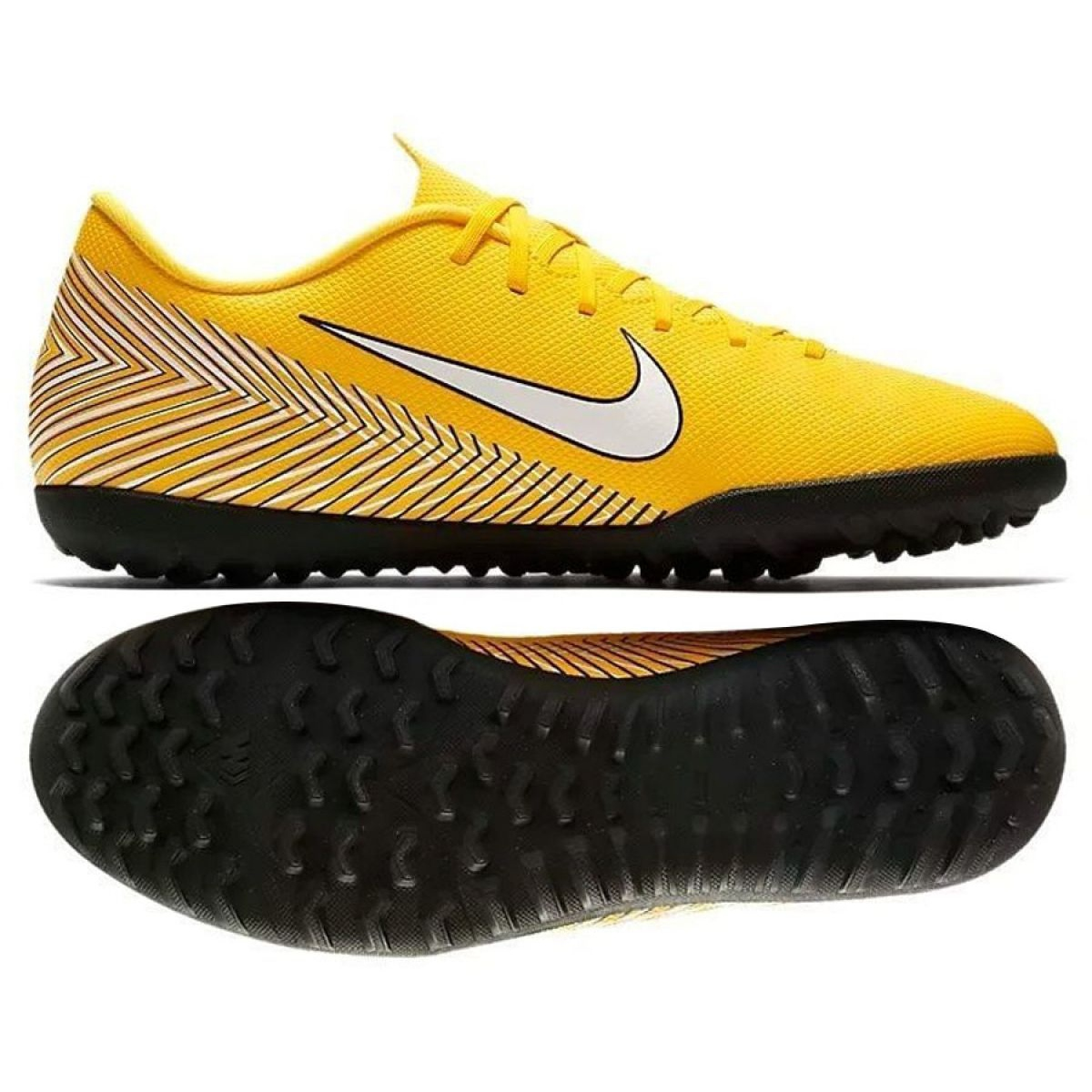 Nike Mercurial Vapor 12 Club Tf M AO3119 710 futballcipők sárga sárga