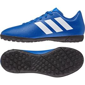 Adidas Nemeziz Tango 18.4 Tf Jr DB2381 futballcipő kék sokszínű