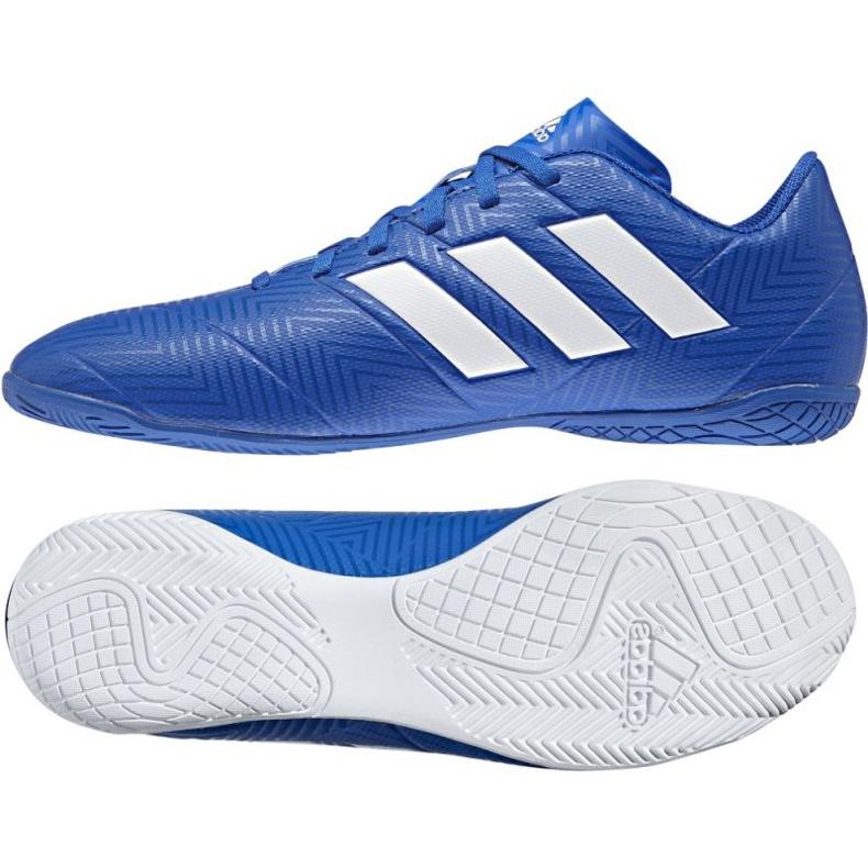 Adidas Nemeziz Tango 18.4 IN M DB2254 futballcipő kék