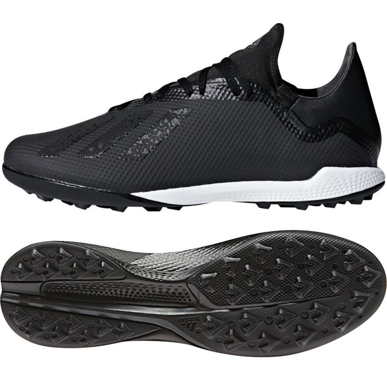 Adidas X Tango 18.3 Tf M DB2476 futballcipő fekete fekete