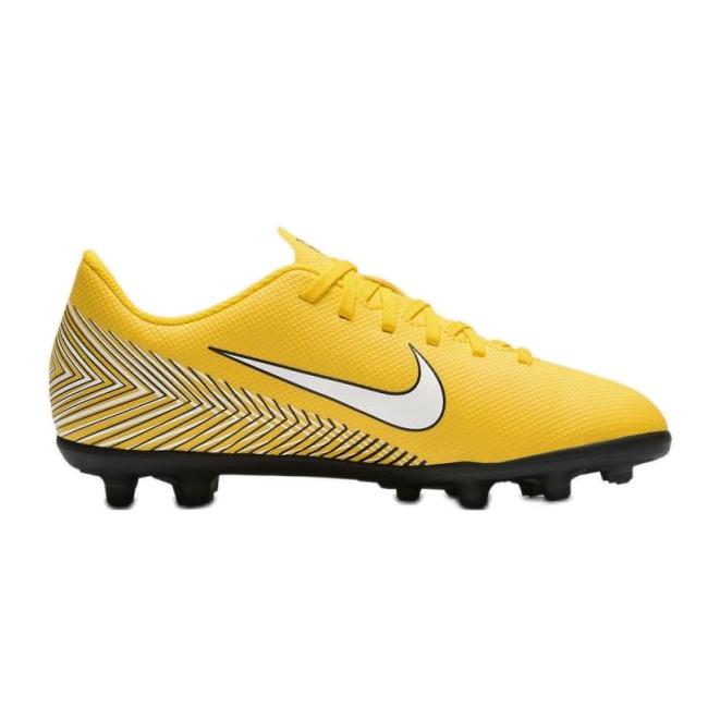Nike Mercurial Vapor 12 Club futballcipő Neymar Mg Jr AO9472 710 sárga sárga