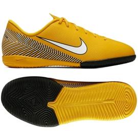 Nike Mercurial Vapor 12 Academy cipő Neymar Ic Jr AO9474-710 sárga sárga