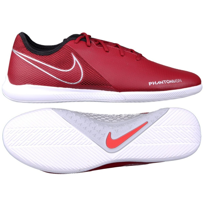 Beltéri cipő Nike Phantom Vsn Academy Ic M AO3225-606 piros piros