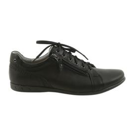 Riko férfi cipő alkalmi cipő 856 fekete