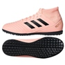 Adidas Predator Tango 18.3 J TF Jr DB2331 beltéri cipő rózsaszín