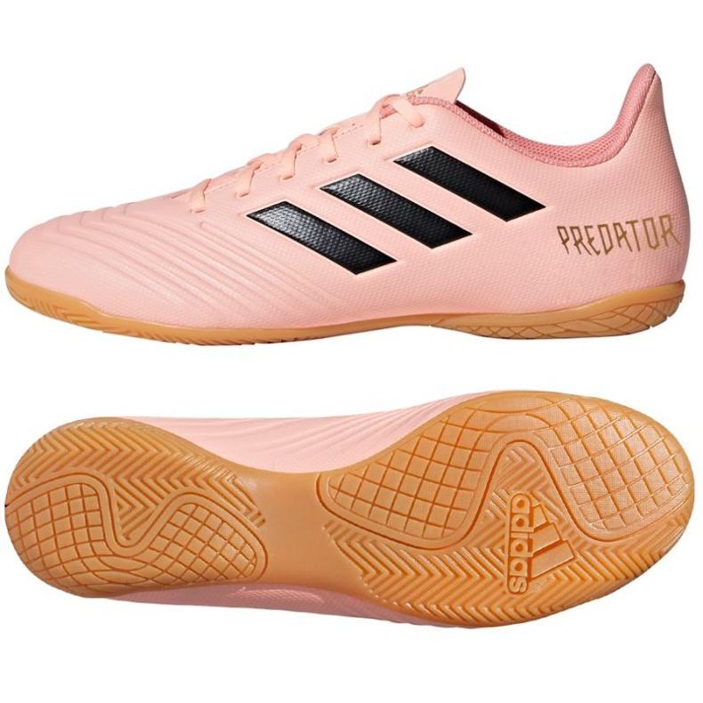 Beltéri cipő adidas Preadator Tango 18.4 rózsaszín