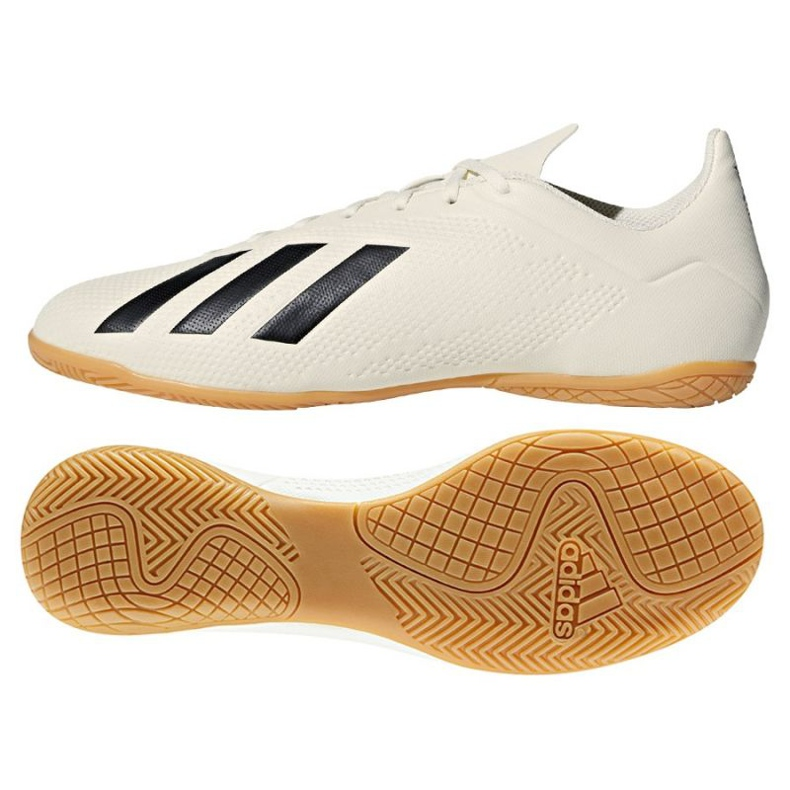 Adidas X Tango 18.4 In M beltéri cipő fehér