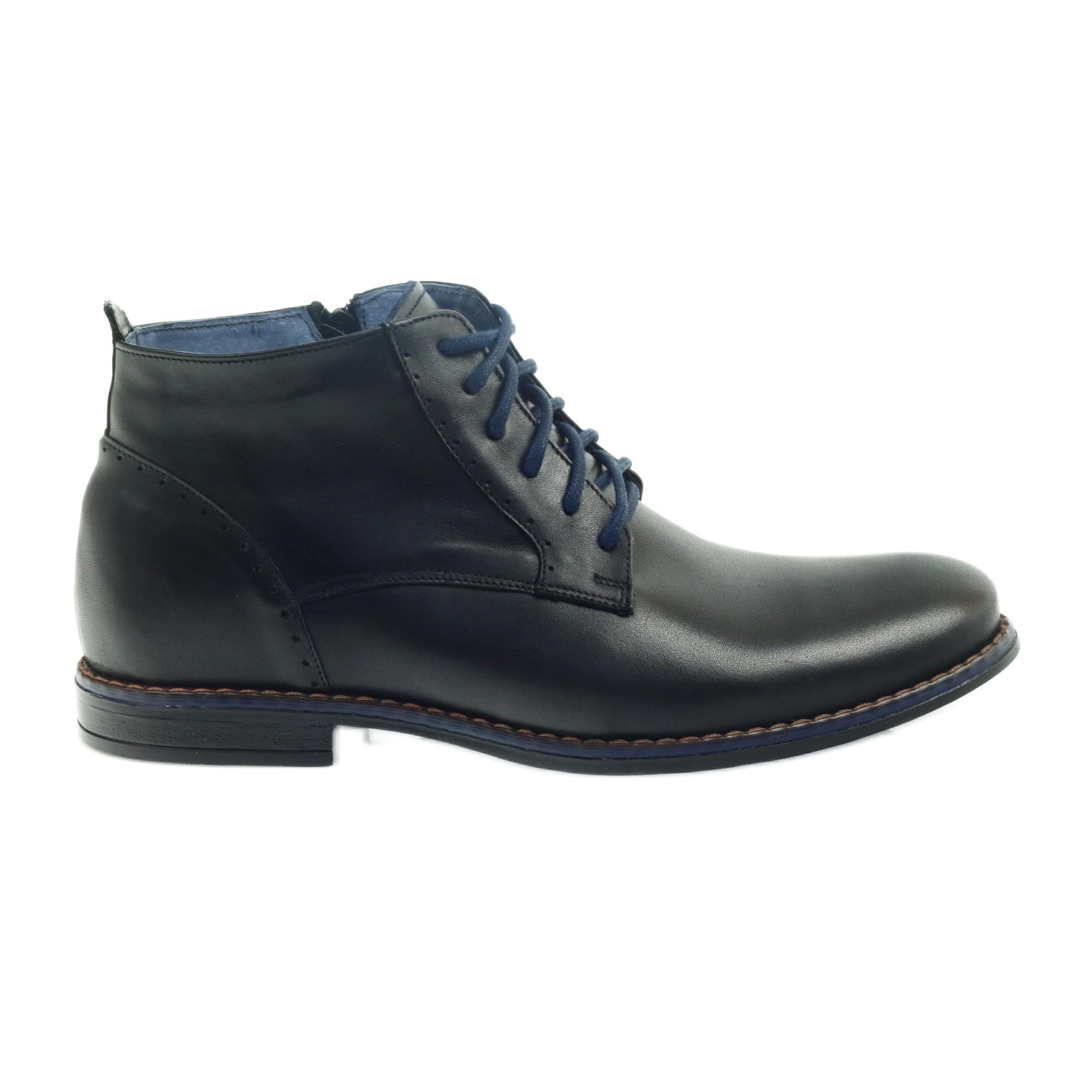 cipők olcsón elfogadható áron eladás usa online Nikopol Téli csizma Nipopol 677 cipzárral fekete - ButyModne.pl