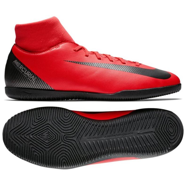 Nike Mercurial SuperflyX 6 beltéri cipő piros
