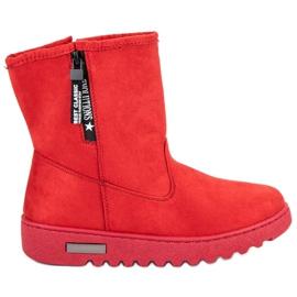Mckeylor Szigetelt cipőcipő piros