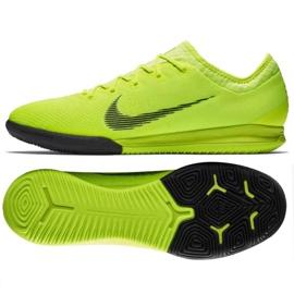 Nike Mercurial Vapor 12 Pro beltéri cipő sárga