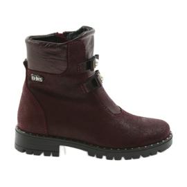 Lányok Ren But 3314 bordó cipő