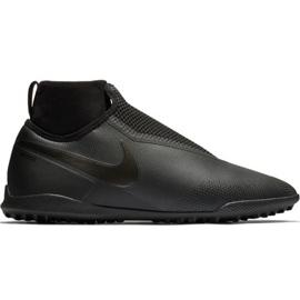 Nike React Phantom Vsn Pro Df Tf M AO3277-001 futballcipő fekete fekete
