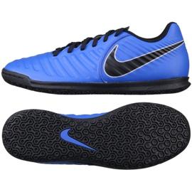 Beltéri cipő Nike Tiempo LegendX 7 Club Ic M AH7245-400 kék kék