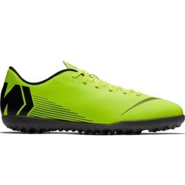 Nike Mercurial Vapor X 12 Club Tf M AH7386-701 foci cipő zöld zöld
