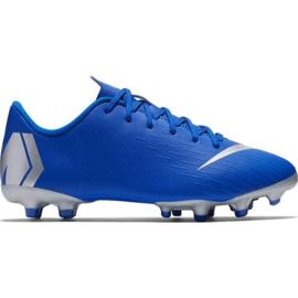 Nike Mercurial Vapor 12 Academy Mg Jr AH7347-400 futballcipő kék kék