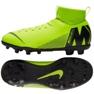 Labdarúgás cipő Nike Mercurial Superfly 6 Club Mg Jr AH7339-701 zöld zöld