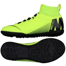 Nike Mercurial Superfly X 6 Club Tf Jr AH7345-701 futballcipő zöld zöld