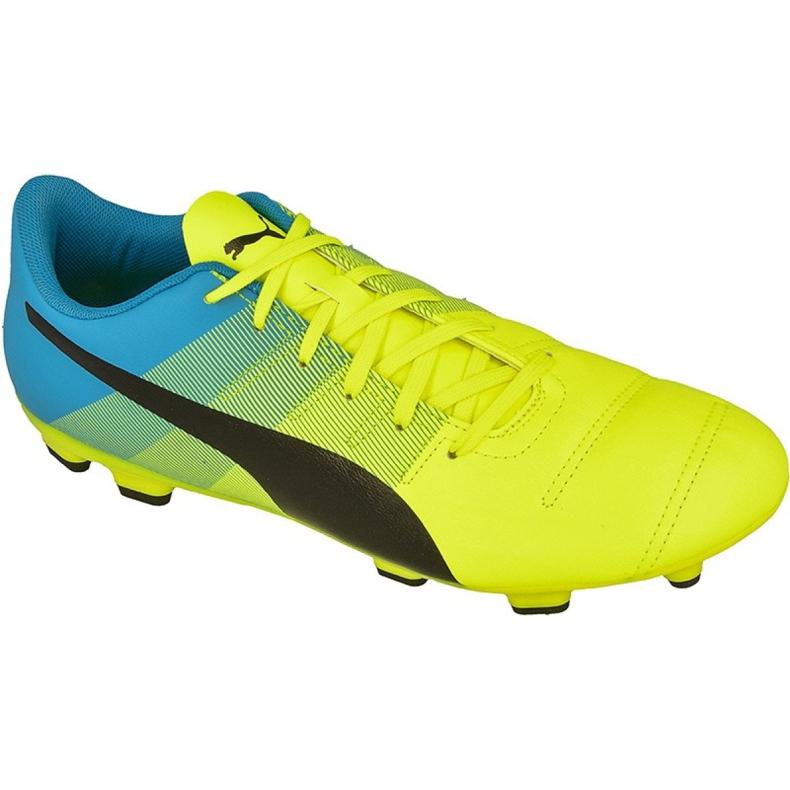Puma evoPOWER 4.3 Fg M 10353601 futballcipő sárga sárga