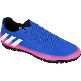 Adidas Messi 16.3 Tf M futballcipő kék