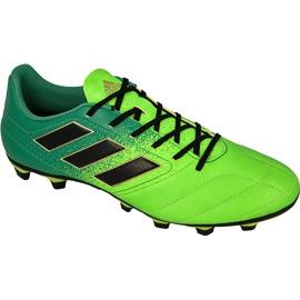 Adidas Ace 17.4 FxG M BB1051 futballcipő zöld zöld