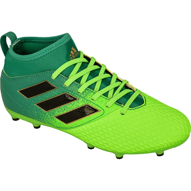 Adidas Ace 17.3 Fg Jr BB1027 futballcipő zöld zöld