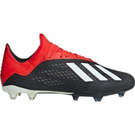 Foci cipő adidas X 18.2 Fg M BB9362 fekete fekete