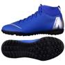 Nike Mercurial SuperflyX 6 Academy Gs Tf Jr AH7344-400 kék kék