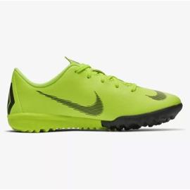 Nike Mercurial VaporX 12 Academy Tf Jr AH7353-701 futballcipő sárga sárga