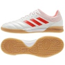 Adidas Copa 19.3 IN Sala M D98065 beltéri cipő fehér