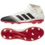 Foci csizma adidas Nemeziz 18.3 Fg M BB9437 fehér fehér