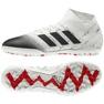 Adidas Nemeziz 18.3 Tf M D97986 futballcipő fehér fehér