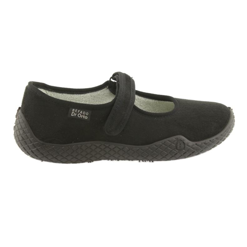 Befado női cipő pu - fiatal 197D002 fekete