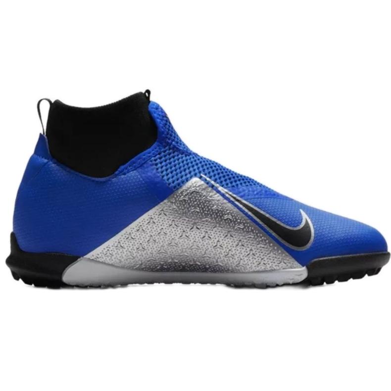 Nike Phantom Vsn Academy Df Tf Jr AO3292-400 foci cipő kék kék