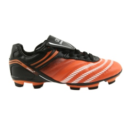 Labdarúgás cipő Atletico FG Jr 14-1216 fekete, narancs narancs