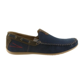 Riko mokaszin cipő férfi kék 781