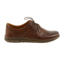 Riko alacsony csizmás férfi cipő barna 870