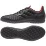 Adidas Predator 19.4 Tf M D97972 futballcipő fekete fekete