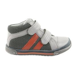 Boote cipő tépőzáras csizma Ren But 3225 szürke / narancs