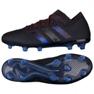 Adidas Nemeziz 18.1 Fg M D98007 futballcipő fekete fekete