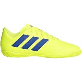 Beltéri cipő adidas Nemeziz 18.4, Jr CM8519 sárga sárga