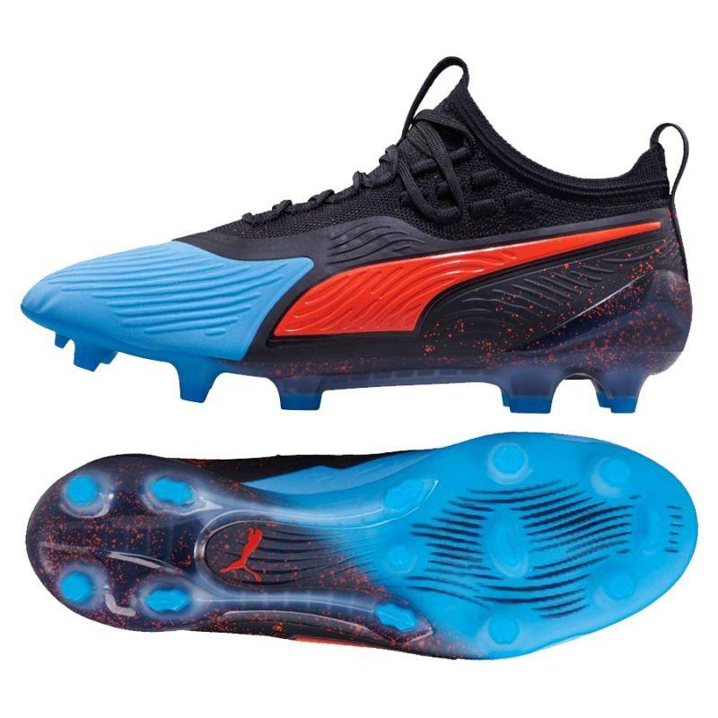 Puma One 19.2 FgAg Fekete Kék 44