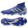 Adidas Predator 19.1 Sg M BC0312 futballcipő kék kék