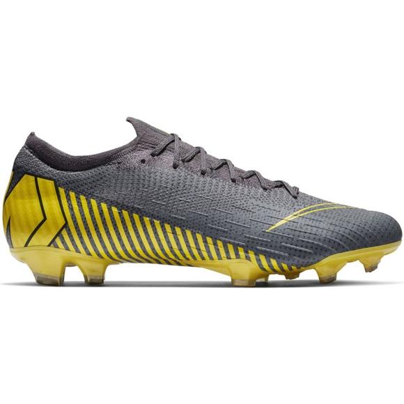 Nike Mercurial Vapor 12 Elite Fg M AH7380-070 futballcipő szürke szürke / ezüst